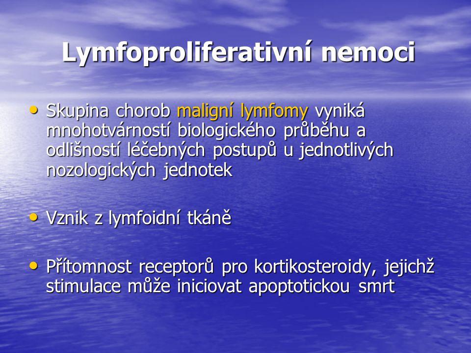 Lymfoproliferativní nemoci