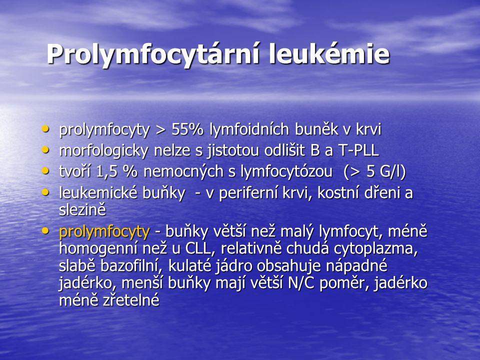 Prolymfocytární leukémie