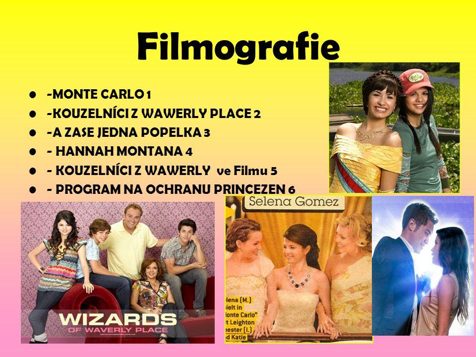 Filmografie -MONTE CARLO 1 -KOUZELNÍCI Z WAWERLY PLACE 2