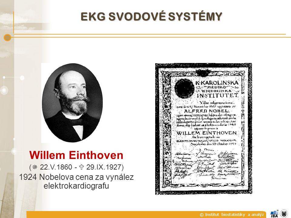 1924 Nobelova cena za vynález elektrokardiografu
