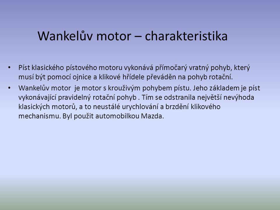 Wankelův motor – charakteristika