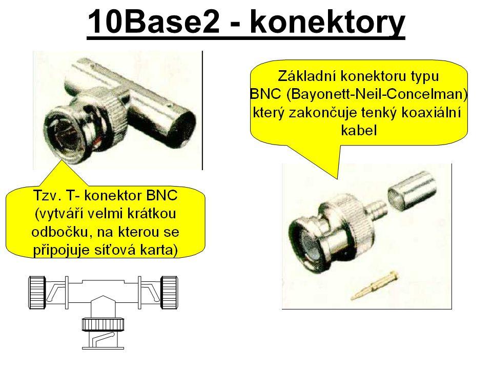 10Base2 - konektory