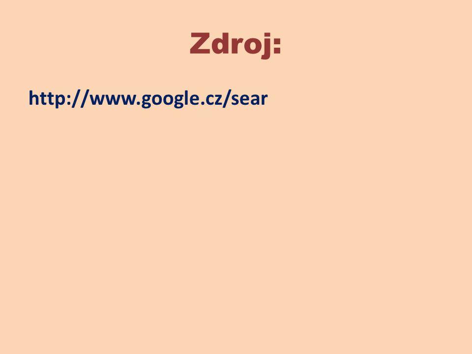 Zdroj: http://www.google.cz/sear