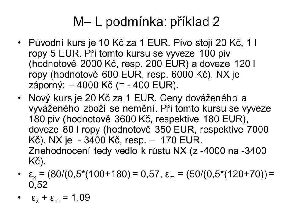 M– L podmínka: příklad 2