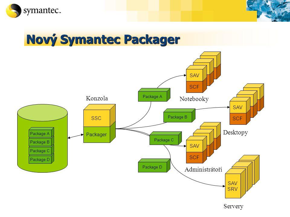 Nový Symantec Packager