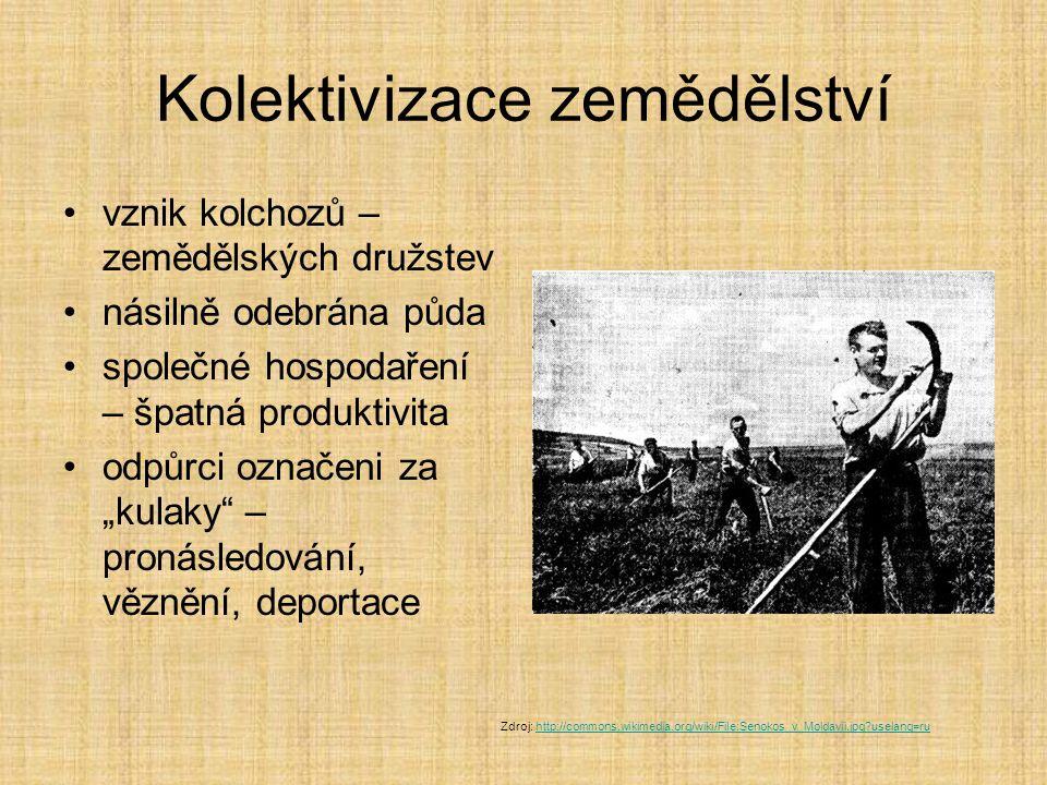 Kolektivizace zemědělství