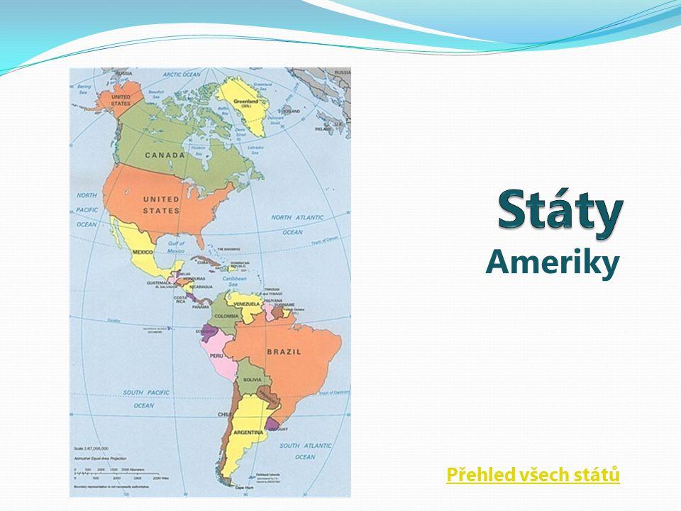 Ameriky Přehled všech států