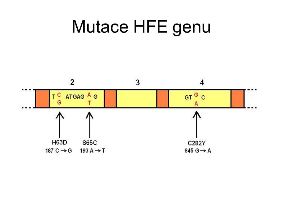 Mutace HFE genu