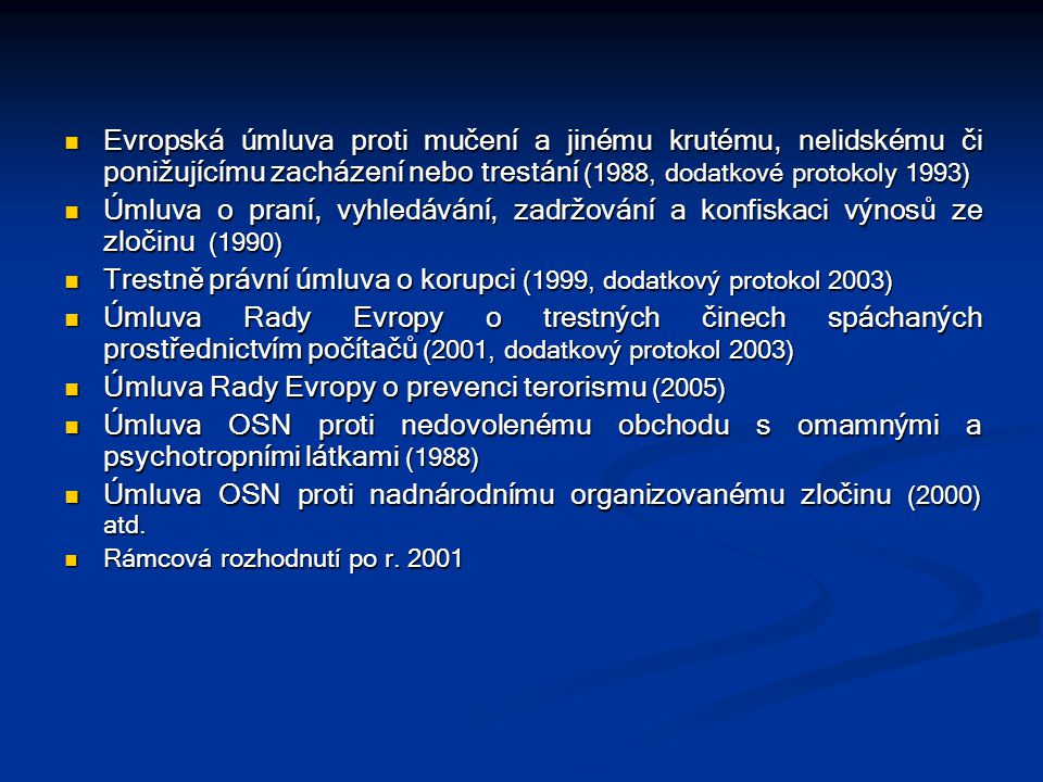 Trestně právní úmluva o korupci (1999, dodatkový protokol 2003)