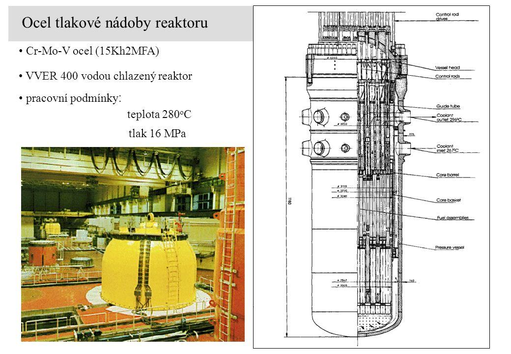 Ocel tlakové nádoby reaktoru