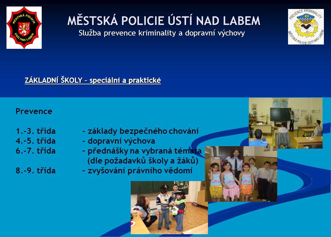 MĚSTSKÁ POLICIE ÚSTÍ NAD LABEM