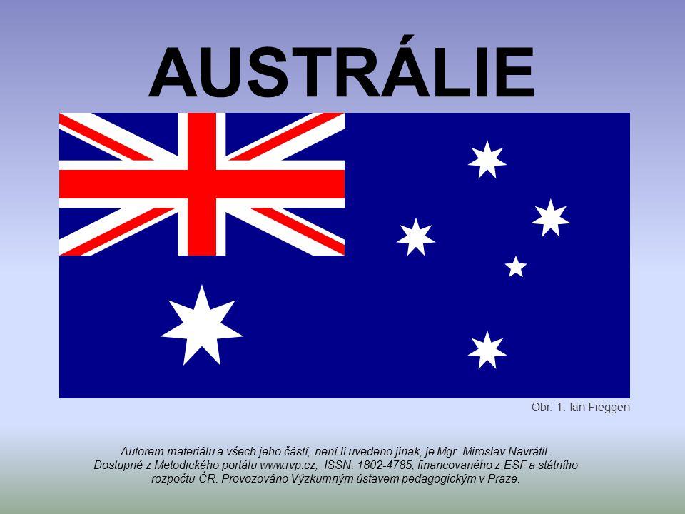 AUSTRÁLIE Obr. 1: Ian Fieggen