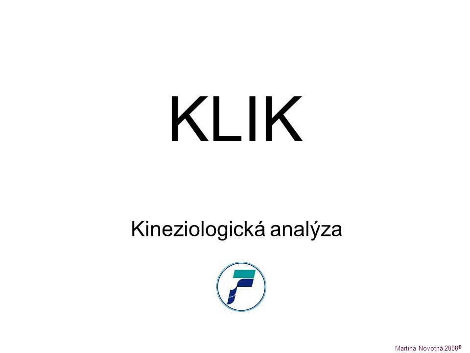 Kineziologická analýza