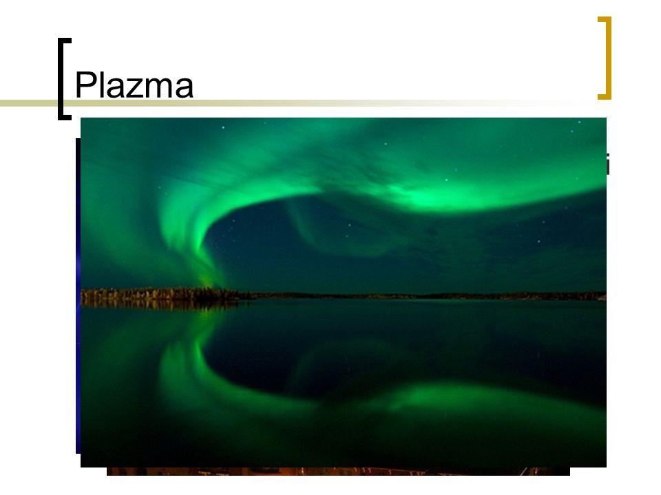 Plazma Jiná otázka – co se stane s palivem při takovéto teplotě (už při 10 000 °C).