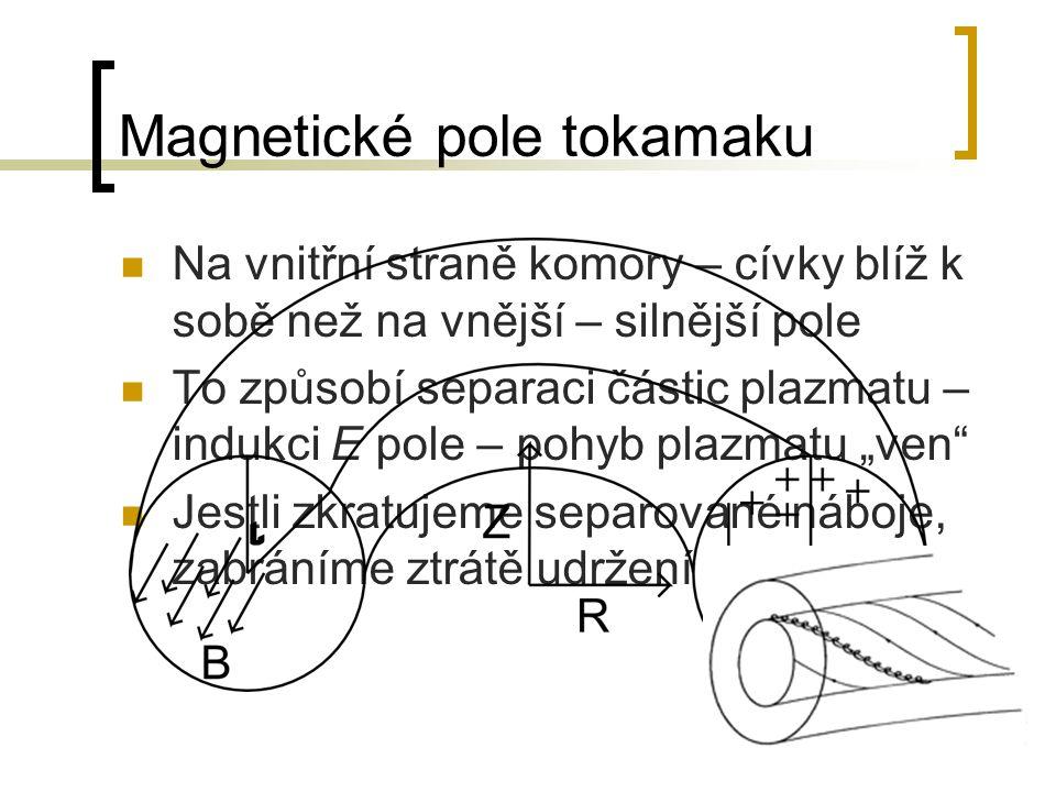 Magnetické pole tokamaku