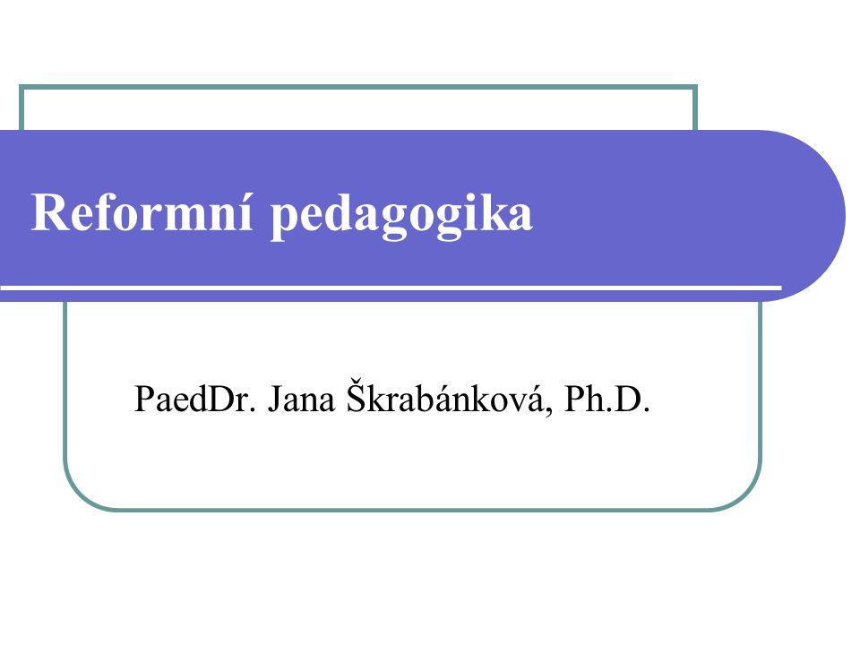 PaedDr. Jana Škrabánková, Ph.D.