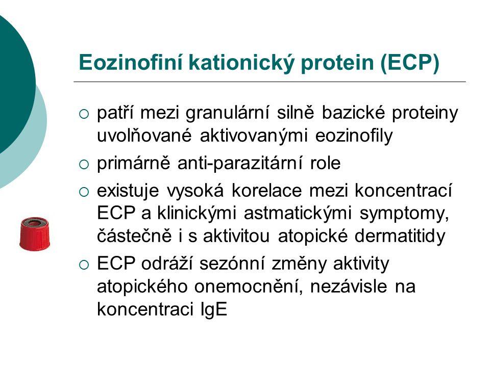 Eozinofiní kationický protein (ECP)
