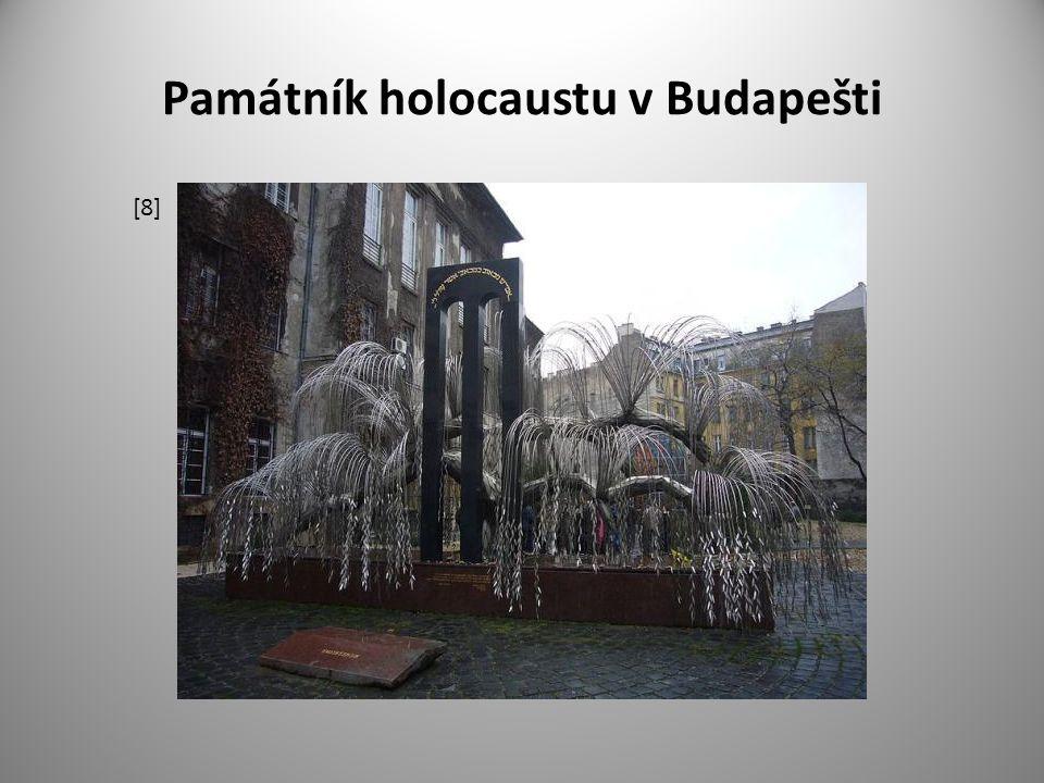 Památník holocaustu v Budapešti