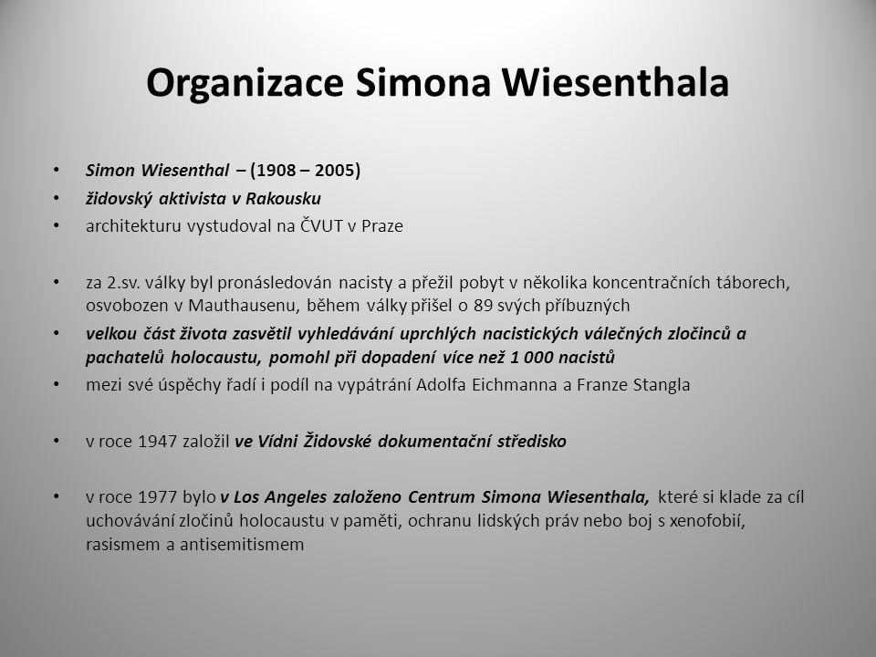 Organizace Simona Wiesenthala