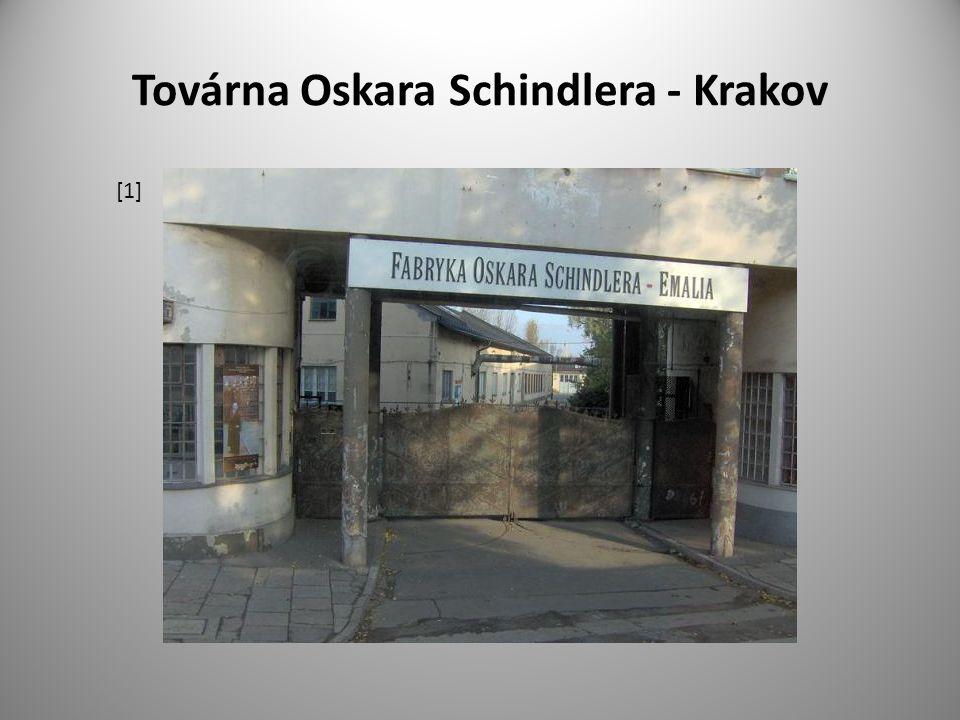 Továrna Oskara Schindlera - Krakov