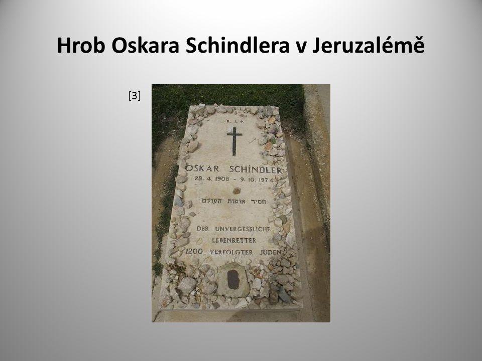 Hrob Oskara Schindlera v Jeruzalémě