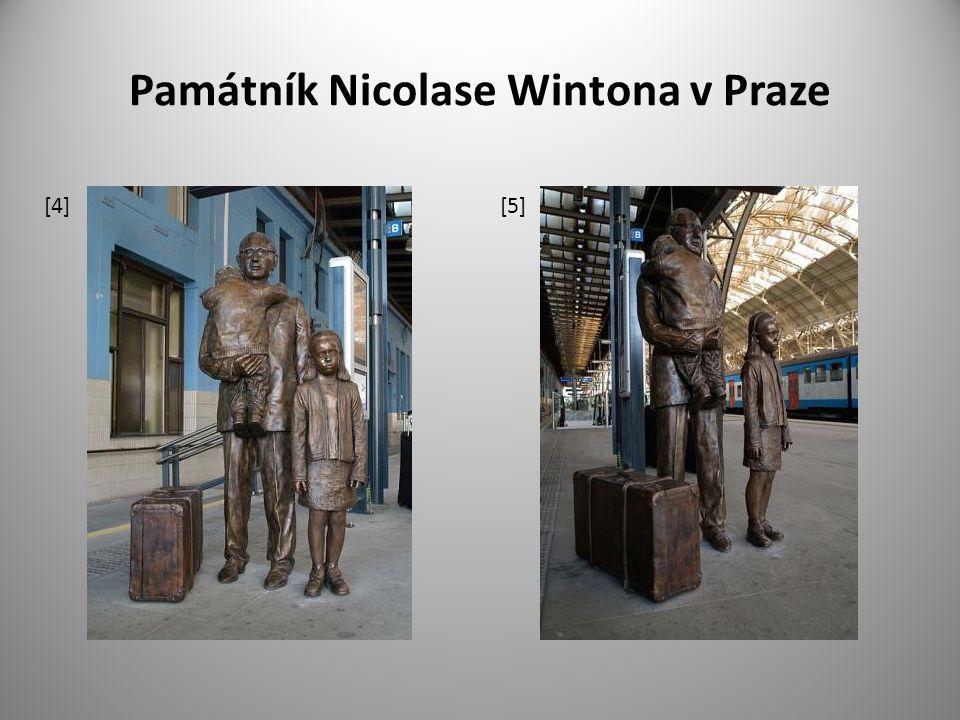 Památník Nicolase Wintona v Praze