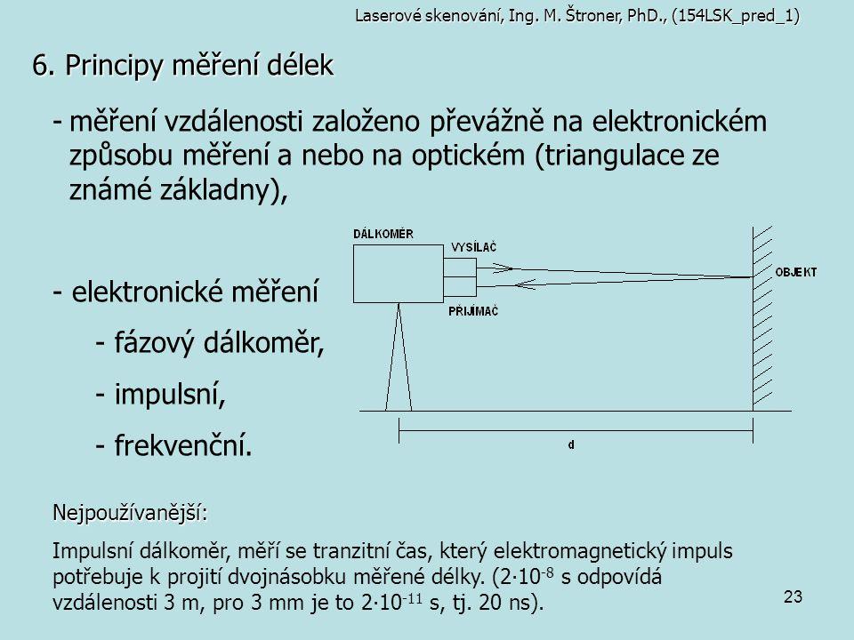 Laserové skenování, Ing. M. Štroner, PhD., (154LSK_pred_1)