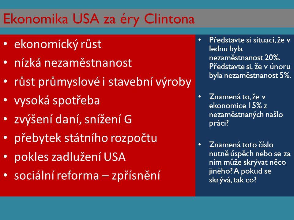 Ekonomika USA za éry Clintona
