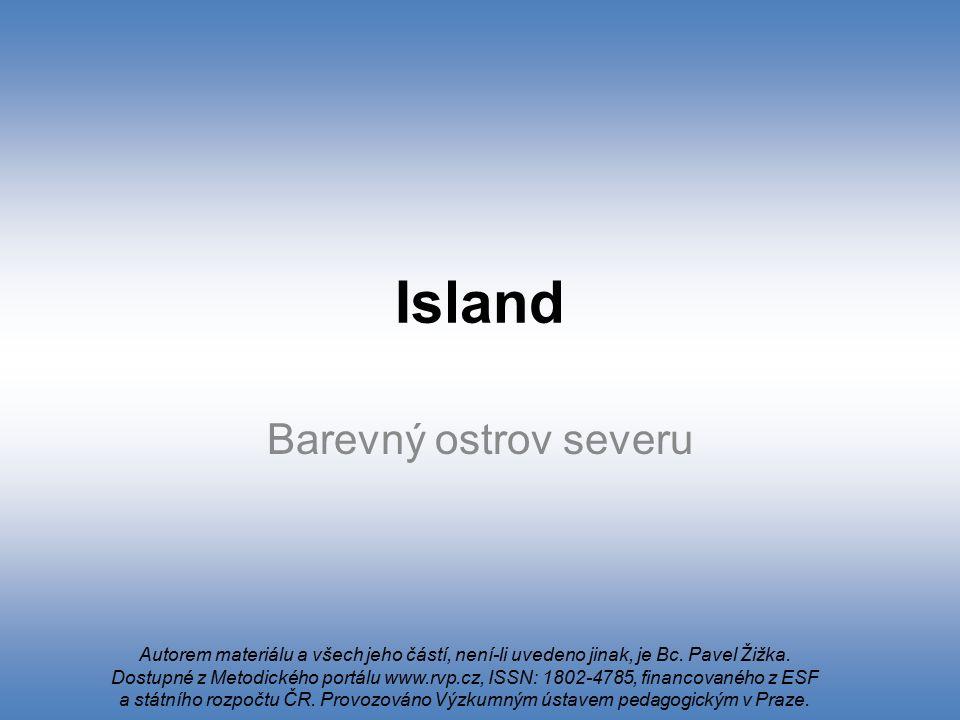 Island Barevný ostrov severu