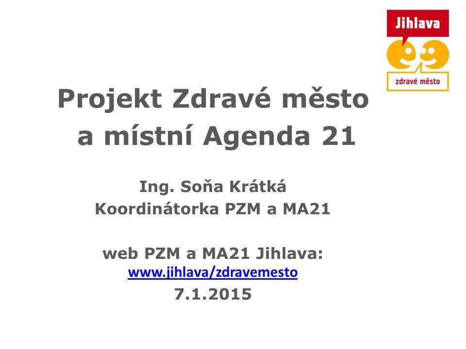 web PZM a MA21 Jihlava: www.jihlava/zdravemesto