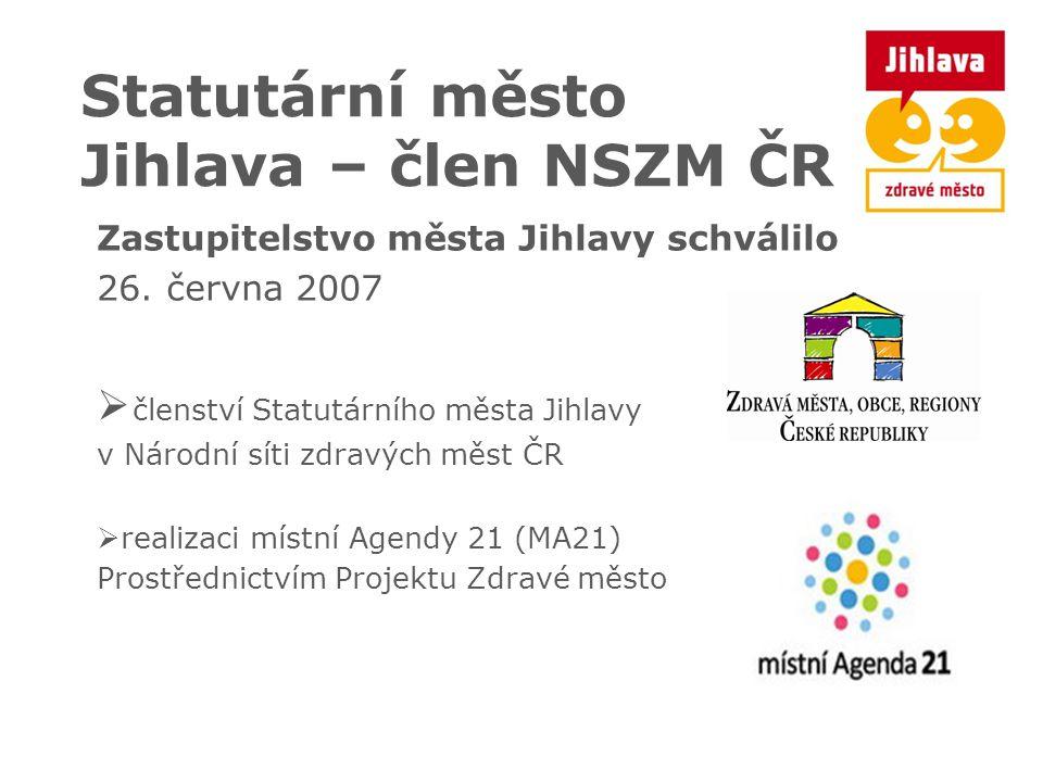Statutární město Jihlava – člen NSZM ČR