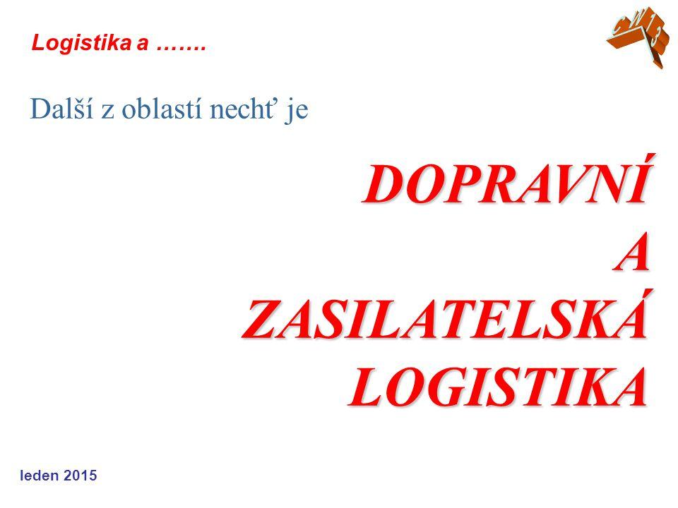 ZASILATELSKÁ LOGISTIKA