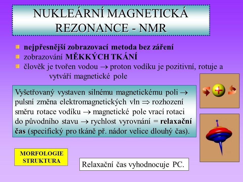 NUKLEÁRNÍ MAGNETICKÁ REZONANCE - NMR