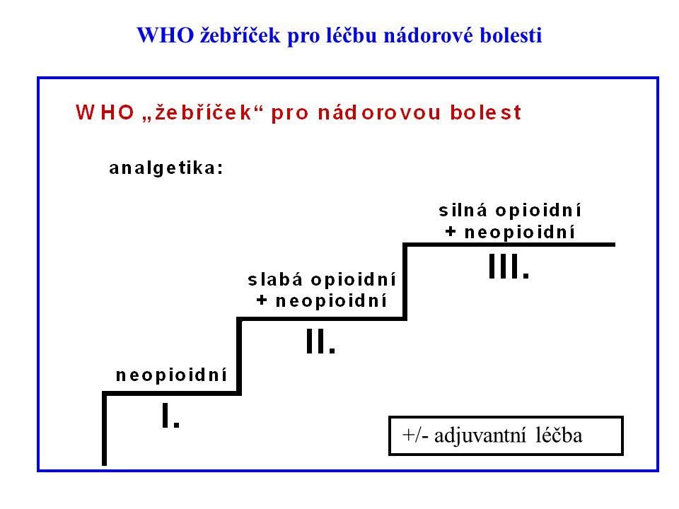 WHO žebříček pro léčbu nádorové bolesti