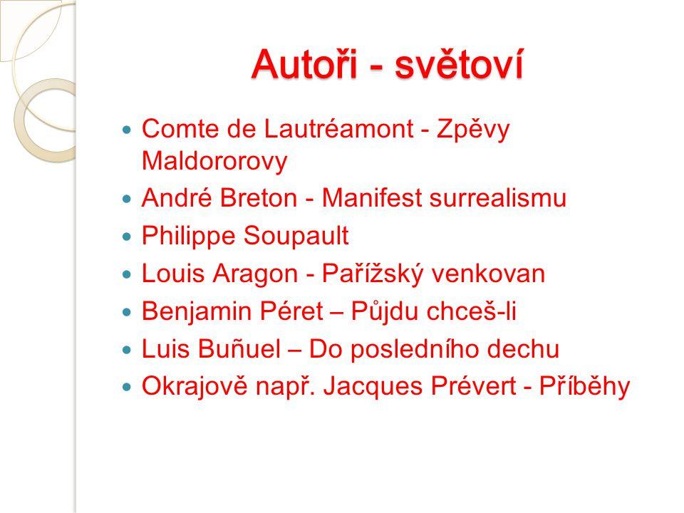 Autoři - světoví Comte de Lautréamont - Zpěvy Maldororovy