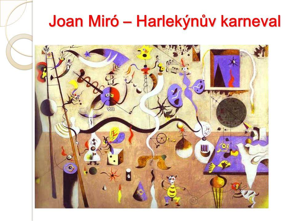 Joan Miró – Harlekýnův karneval