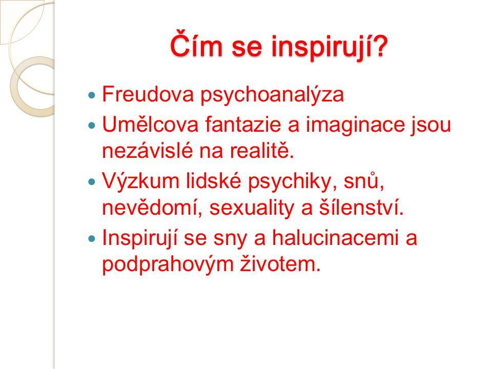 Čím se inspirují Freudova psychoanalýza