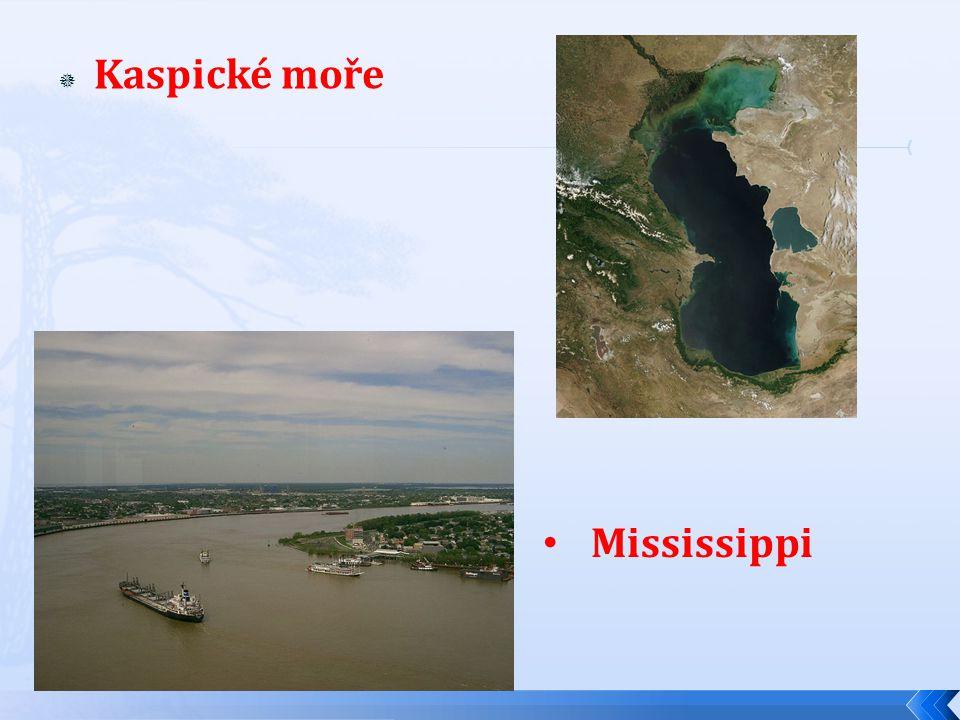 Kaspické moře Mississippi