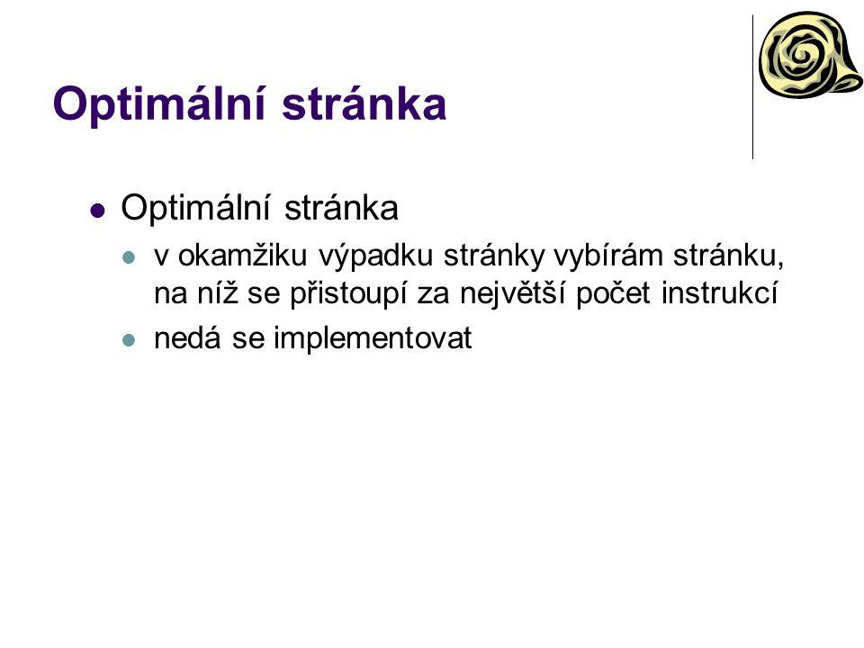 Optimální stránka Optimální stránka