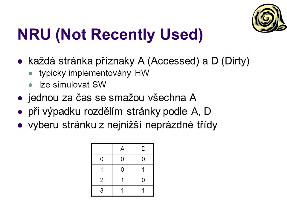 NRU (Not Recently Used)