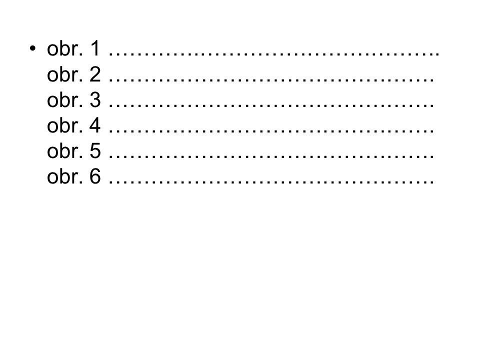 obr. 1 …………. ……………………………. obr. 2 ………………………………………. obr