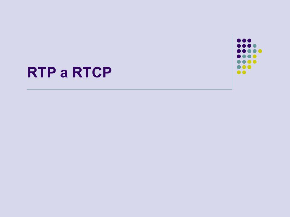 RTP a RTCP