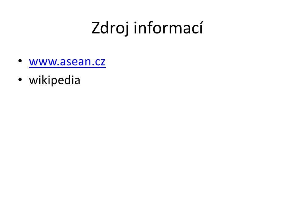 Zdroj informací www.asean.cz wikipedia