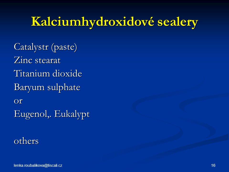 Kalciumhydroxidové sealery