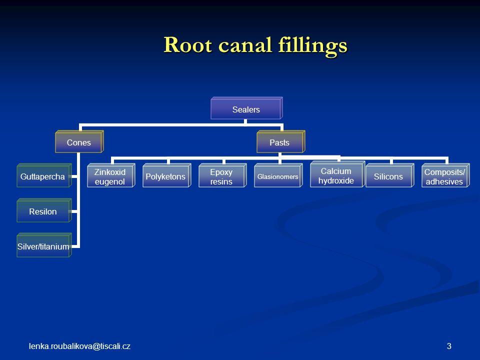 Root canal fillings lenka.roubalikova@tiscali.cz