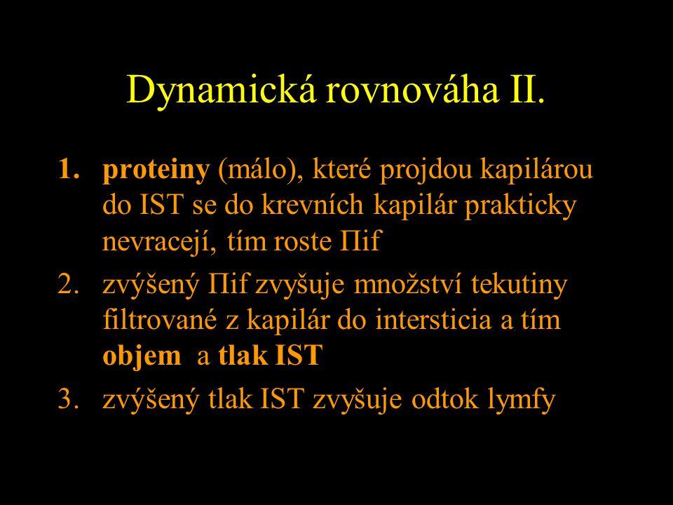 Dynamická rovnováha II.