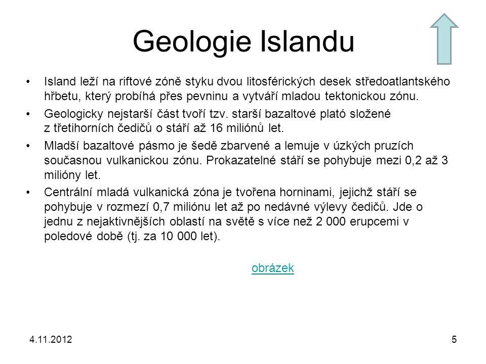 Geologie Islandu