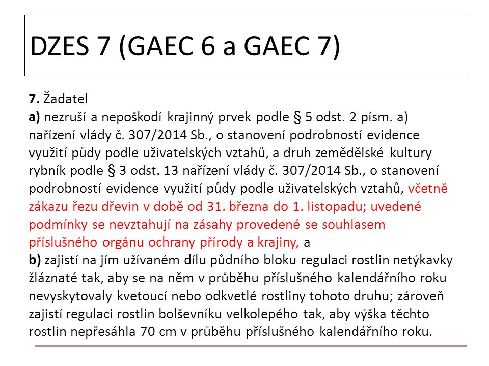 DZES 7 (GAEC 6 a GAEC 7) 7. Žadatel