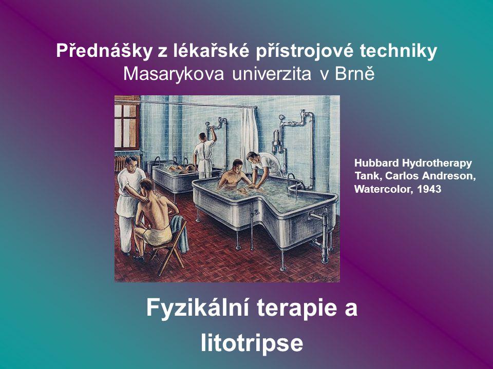 Přednášky z lékařské přístrojové techniky Masarykova univerzita v Brně