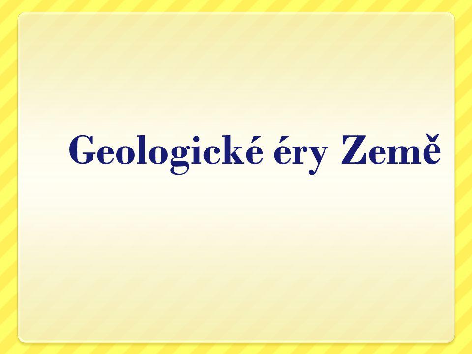 Geologické éry Země